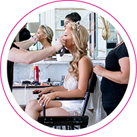 Hairstyling and MakeUp Los Angeles Weddings