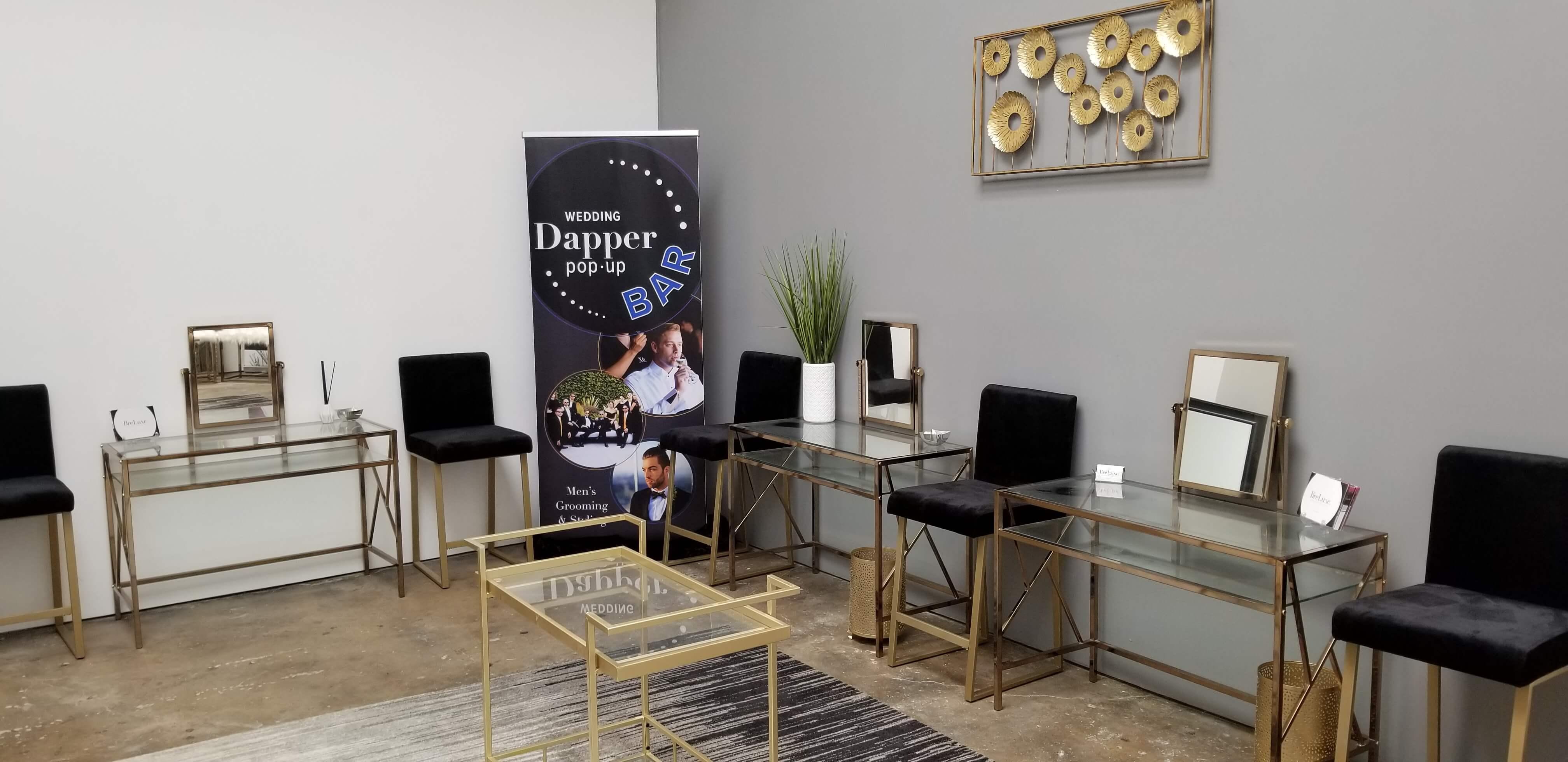 Men's Pop-Up Dapper Bar launches in Los Angeles 4